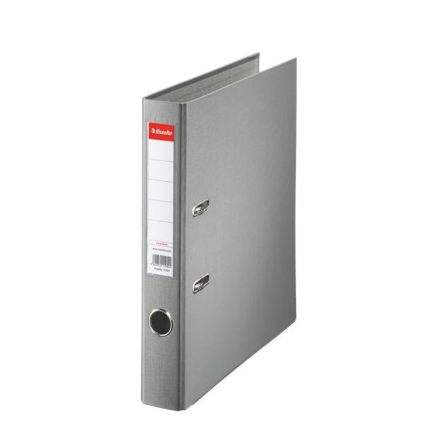 Biblioraft A4  Plastifiat Pp  Margine Metalica  50 Mm  Esselte Economy - Gri