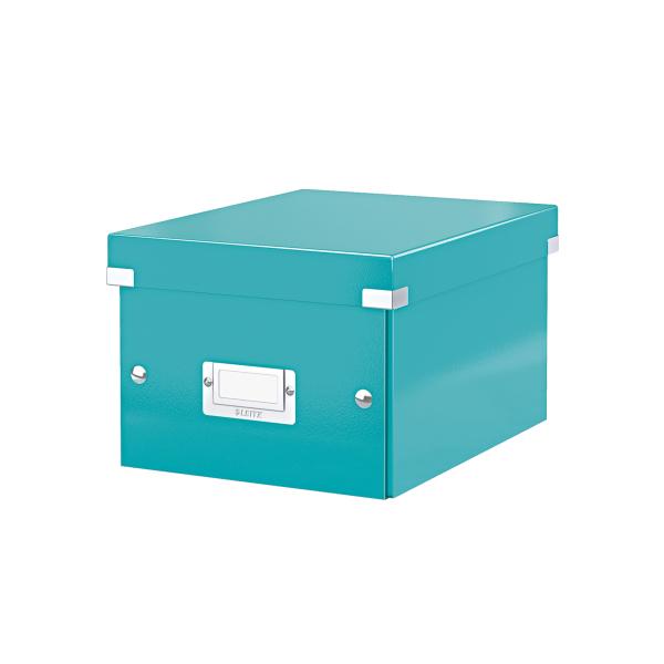 Cutie Arhivare 216 X 160 X 282 Mm  Leitz Click and Store  Carton Laminat - Turcoaz