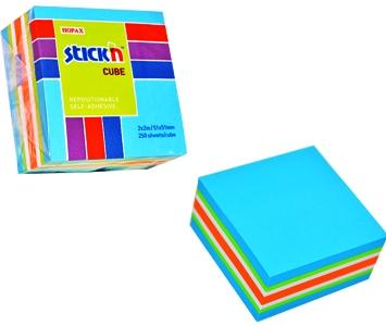 Cub Notes Autoadeziv 51 X 51 Mm  250 File  Stickn - Neon/pastel Asortate