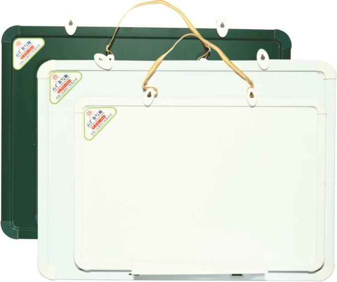 Tabla Magnetica 48x33cm Office-cover 2 Fete Alb-verde