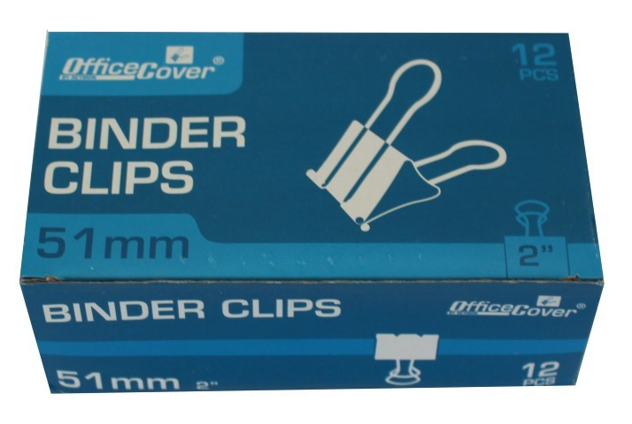 Clips 51mm Office-cover Rm51 12 Bucati/set
