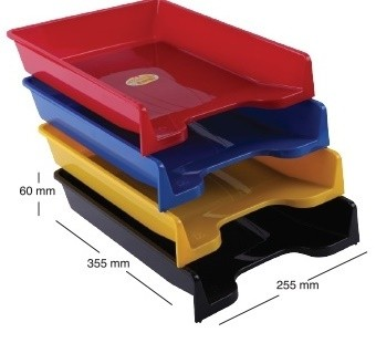 Tavita Documente A4 Ark 350 Plastic Albastru Mat