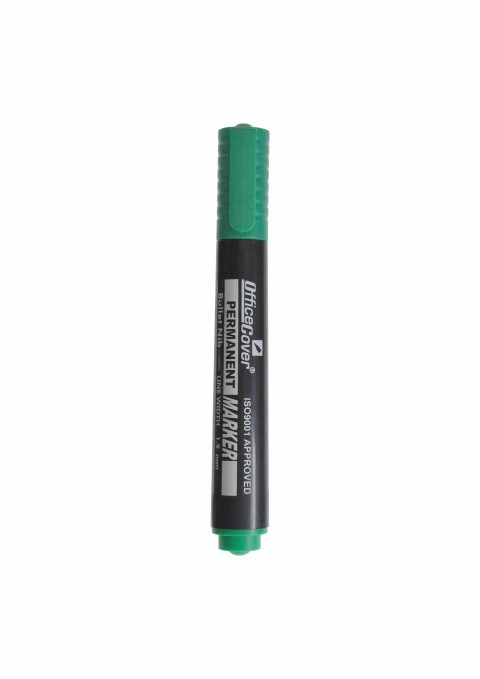Marker Permanent Office-cover Ep11-2002-12 Varf Rotund Verde