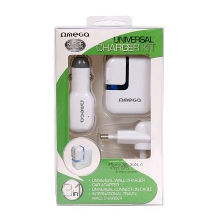 Incarcator Omega Pentru Iphone 2.1a Ouckip 41225