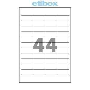 Etichete 44/a4 48 5x25 4mm 100 Coli Etibox 119771
