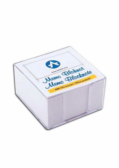 Cub Hartie Alb 8 5x8 5 500 Coli Ark 567-1 + Suport Plastic Transparent