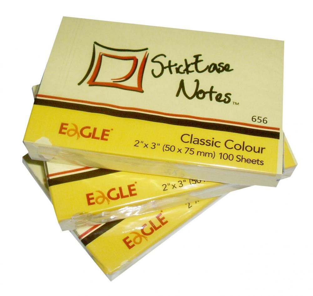 Notes Adeziv 50x75 Eagle 656e 100 Coli Galben-pal