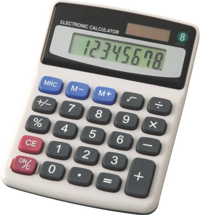 Calculator 8 Digit Eagle Tycl1072