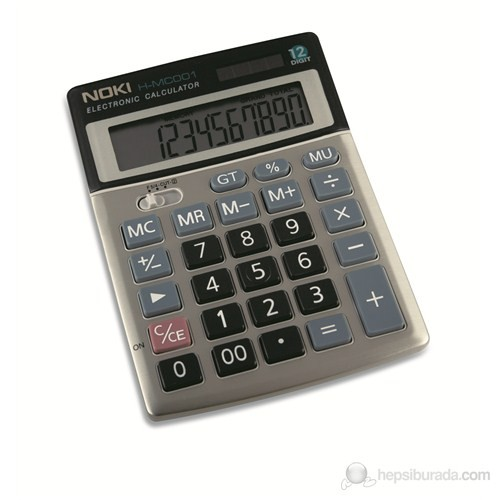 Calculator 12 Digit Noki Mc001