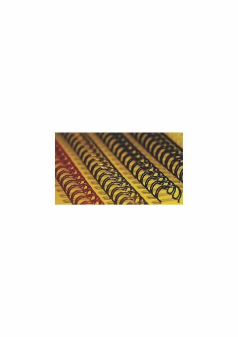Spira Metal 22 0 Mm (7/8) Office-cover Negru 50 Bucati/set