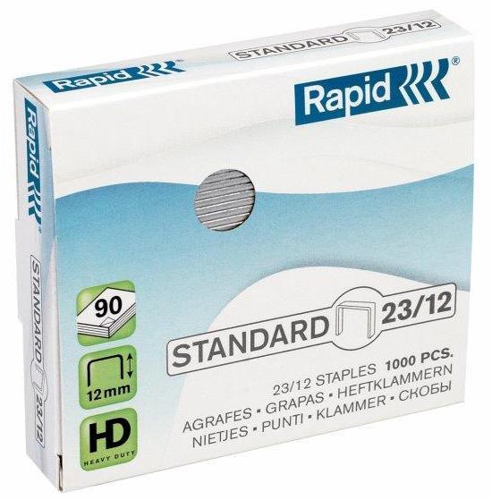 Capse 23/12  1000 Buc/cutie  Rapid Standard