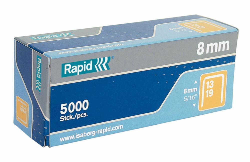 Capse Rapid 13/ 4  5000 Buc/cutie - Pentru Pistol De Capsat Rapid M10y