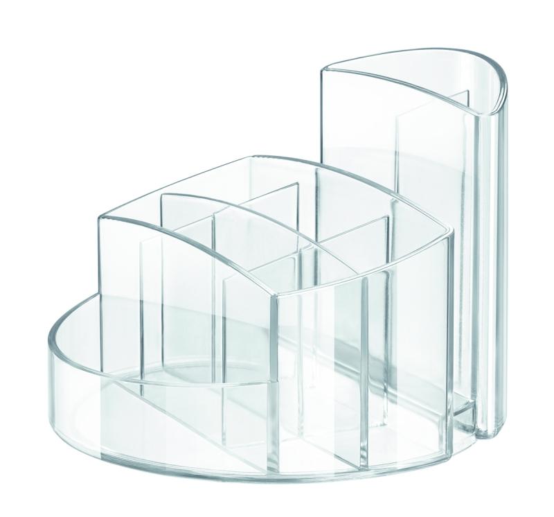 Suport Pentru Articole De Birou  Han Rondo - Transparent Cristal