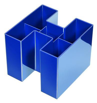 Suport Pentru Instrumente De Scris  Han Bravo - Albastru Lucios