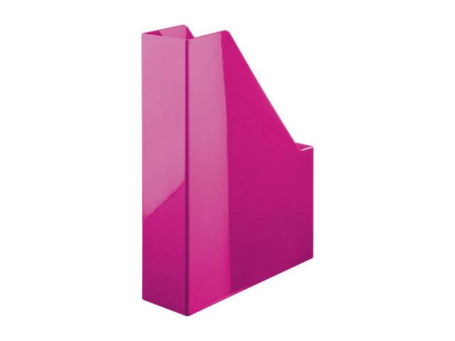Suport Vertical Plastic Pentru Cataloage Han Iline - Roz Lucios