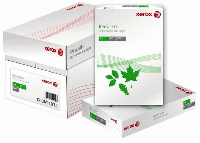 Hartie Reciclata  A4  80g/mp  Xerox Recycled+  Alba